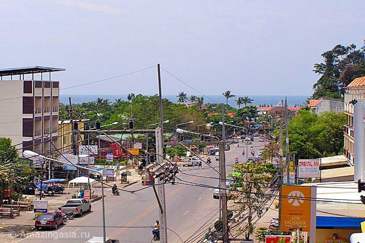 Фотографии Ао Нанга. Центральная улица города.