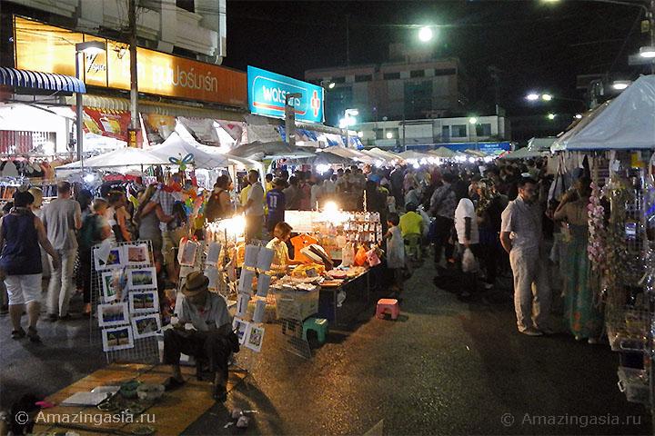 Ночной рынок Краби Тауна
