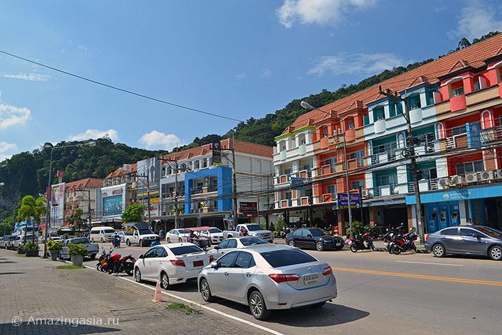 Дешёвые отели Ао Нанга, расположенные на дороге Ао Нанг - Краби Таун.