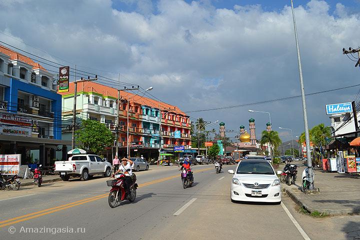 Дешёвые отели Ао Нанга, дорога Ао Нанг - Краби Таун.