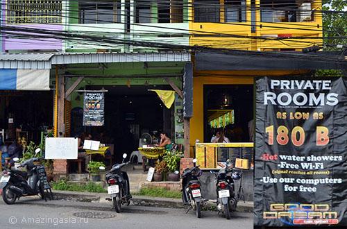 Фото города Краби, дешёвые отели Краби Таун