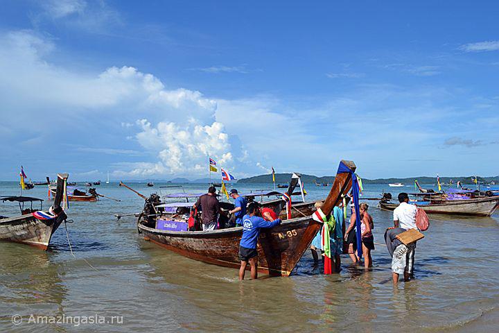 Лодка на маршруте Ао Нанг - Рейли