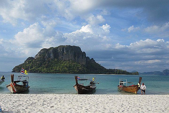 Остров Koh Tub и песчаная коса Talay Waek, Краби