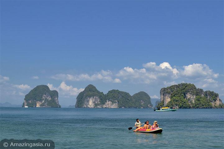 Остров Ко Хонг (Koh Hong), Краби