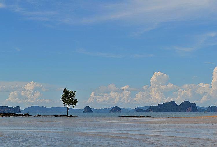 Вид на острова Тан Боккорани