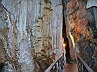 Внутри пещеры Diamond cave