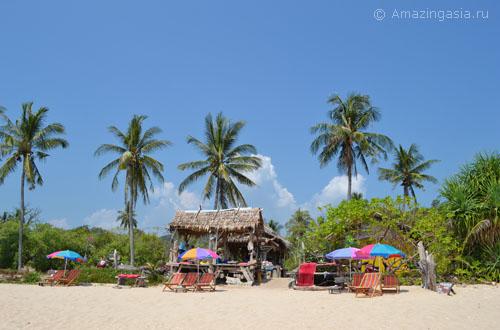 Пляж Клонг Конг на острове Ланта