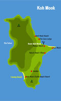 Koh Mook map