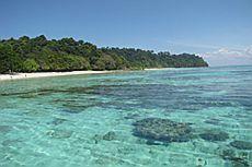 Острова Рок (Koh Rok), национальный парк Ланта