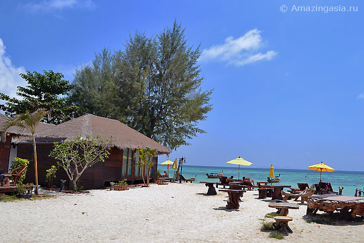 Отель Anda Resort, пляж Санрайз (Sunrise Beach), остров Липе (Koh Lipe)