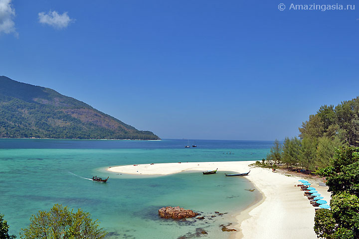 Отель Mountain Resort, пляж Санрайз (Sunrise Beach), остров Липе (Koh Lipe)