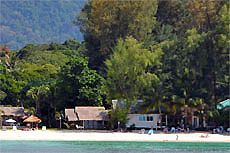 Пляж Паттайя Бич (Pattaya Beach), остров Липе