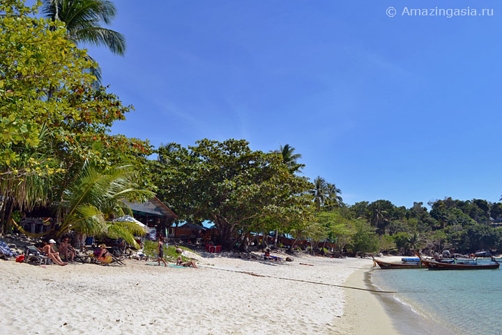 Пляж Сансет (Sunset Beach), остров Липе (Koh Lipe)