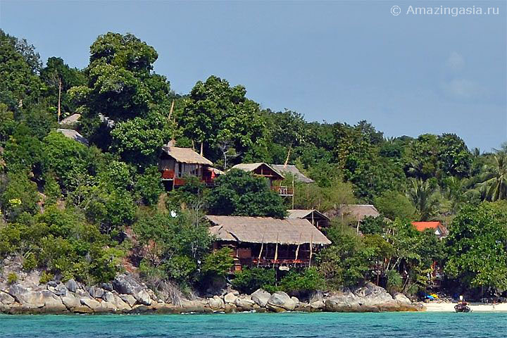 Отель Serendipity Resort, пляж Санрайз (Sunrise Beach), остров Липе (Koh Lipe)
