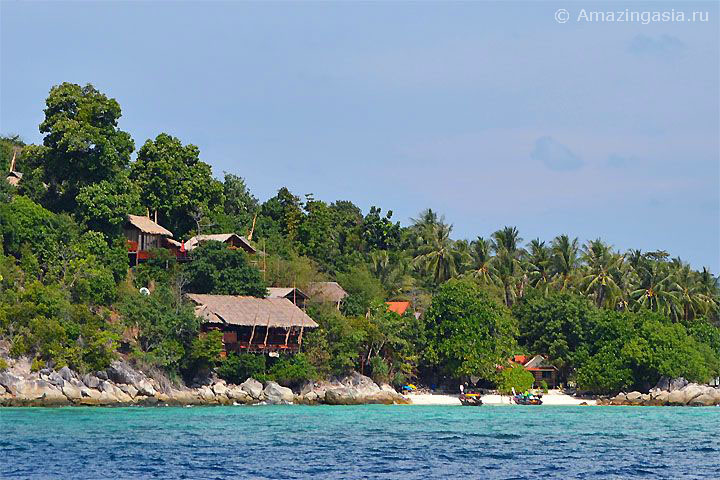 Отель Viewpoint Resort, пляж Санрайз (Sunrise Beach), остров Липе (Koh Lipe)