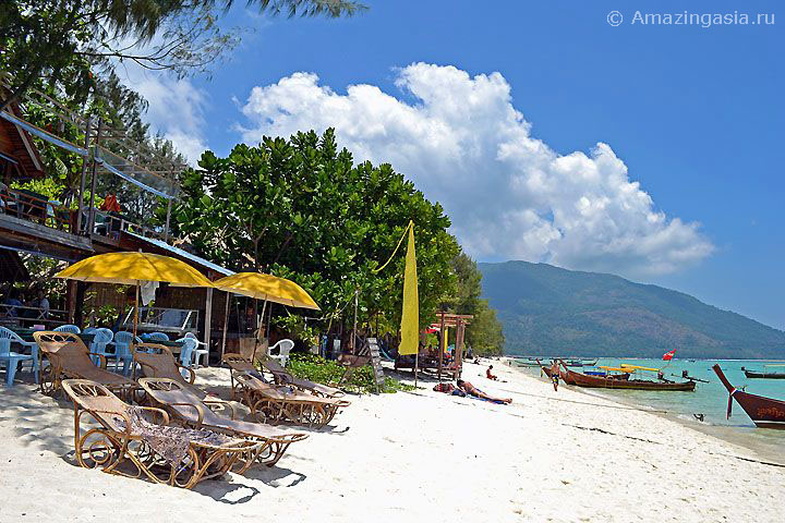 Отель Zanom Resort, пляж Санрайз (Sunrise Beach), остров Липе (Koh Lipe)