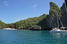 Залив Nui Bay, остров Пи Пи Дон