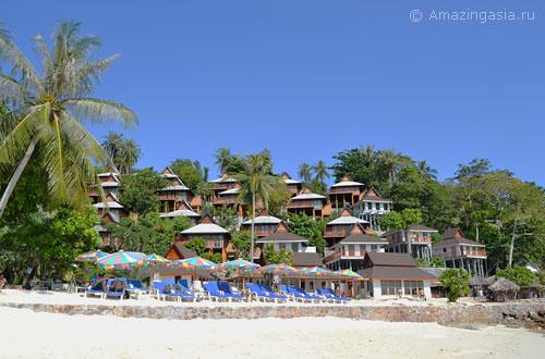 Отели острова Пхи Пхи Дон, отель Phi Phi The Beach Resort