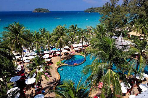 Отели и ресорты пляжей Ката.