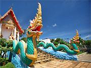 Храм Ват Карон (Wat Karon), пляж Карон, Пхукет
