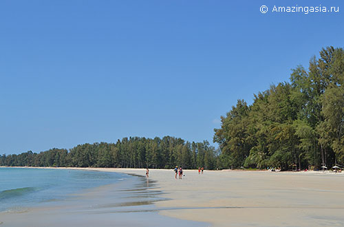 Остров Паям (Koh Phayam), пляж залива Ao Yai (Long Beach)