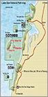 Laem Son national park map