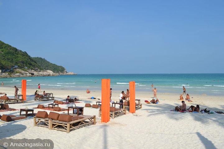 Пляж Хаад Рин (Haad Rin) на острове Ко Панган