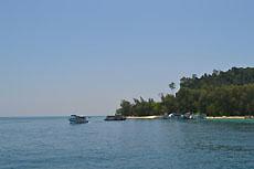Фотографии дороги на остров Koh Kradan, №004