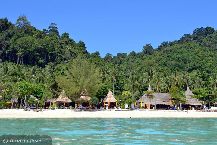 Острова Транг. Отель Mayalay Beach Resort, остров Нгай.