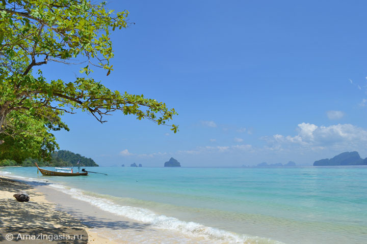 Острова Транг. Фото пляжа острова Крадан.
