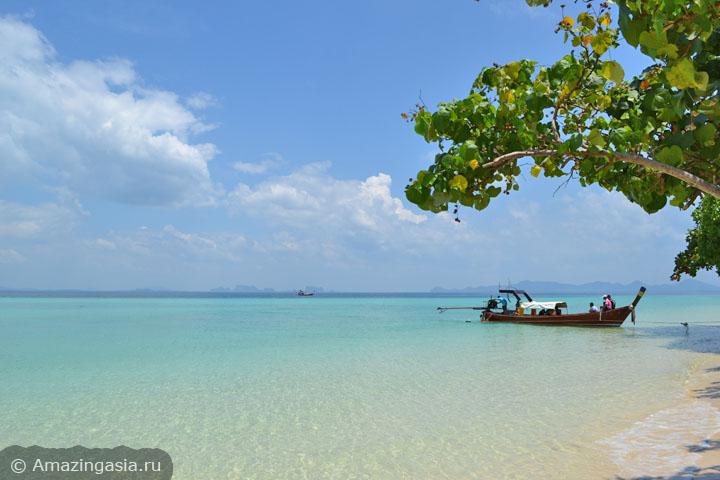 Острова Транг. Классический вид с пляжа острова Крадан.